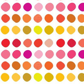 Warm Swatching Dots // Small