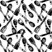 """Cooking Spoons - Small (3"""")"""