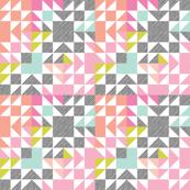 puzzle wholecloth // neon brights // small
