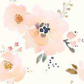 Indy Bloom Peachy Baby Florals B