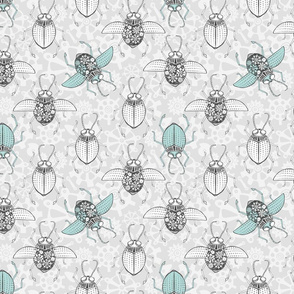 Automata Beetle - Limpet Blue
