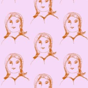 Portrait of a Quiet Girl