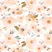 Indy Bloom Peachy Baby Large Floral