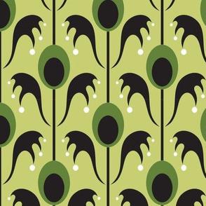 batty flora green