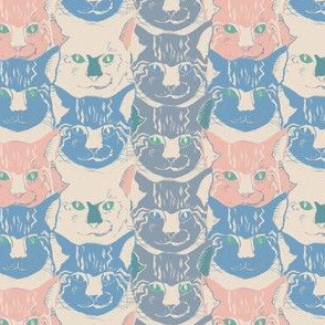 Cats pastell