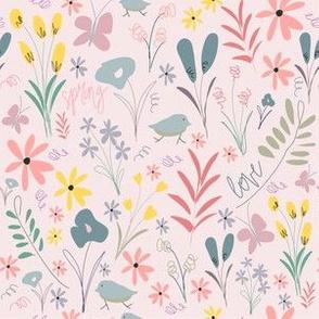Spring Florals - Blush