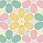 egg seed pod bud 6x3 : spring