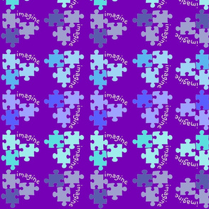 Autism Awareness Blue and Purple