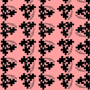 Autism Awareness Black and Pink