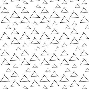 Handdrawn Triangles