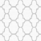Moroccan Geometric in Cashmere Grasscloth