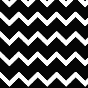 Black Chevron Zigzag