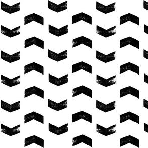 Black arrows on white