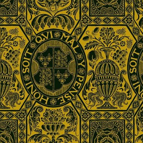 Tudor Damask 1d