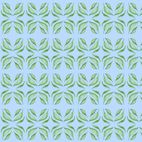 Gum Leaf Lattice