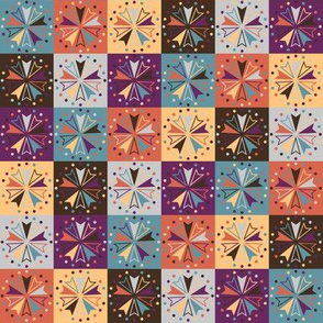 Circus Squares - Spiced Silks