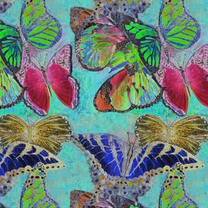 Muted Butterflies