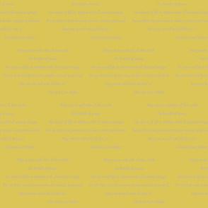 Christin Quote (Mustard)
