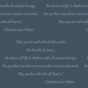 Christin Quote (Midnight)
