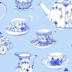 Tea at Amalienborg Palace