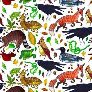 Ohioan Animal Pattern
