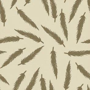 Rebel Feathers Warm Grey