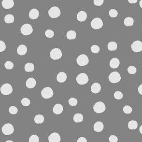 Rebel Polka Pale on Grey