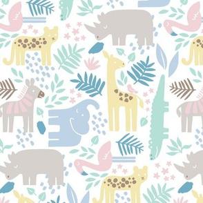Safari Animal Nursery 1