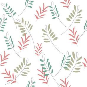 Floral Ferns