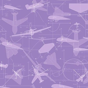 Aerodynamics (Purple)