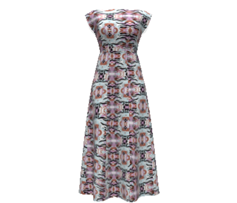 kaleidoscopic camouflage in lilac ,girly camo