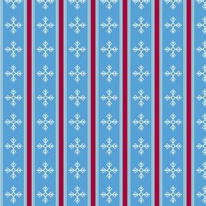 Snowflake, blue
