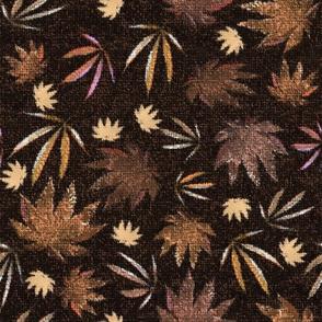 Hemp Burlap Leaves