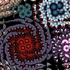 Kaleidoscope Circles II Bug Eye