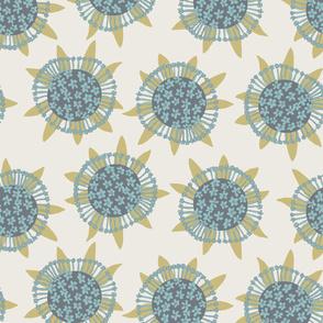 Sea flowers - cream