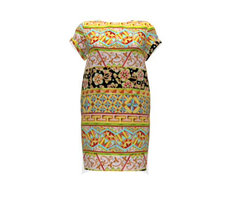 Boho Chic Decorative Stripe