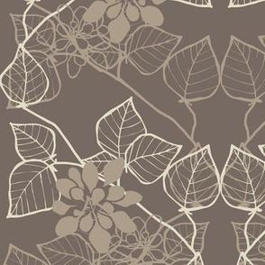 Floral Vine Dark