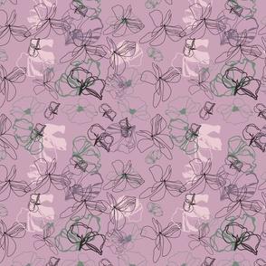 Floral Doodle III