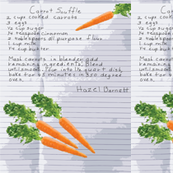 Hazel's Carrot Souffle Recipe_Miss Chiff Designs