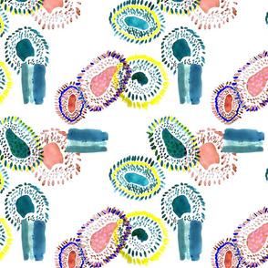 watercolour cells
