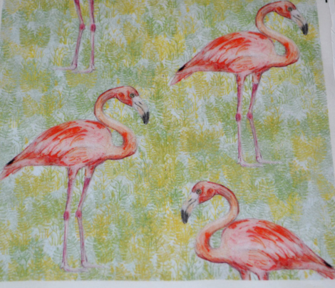 Flamingo Watercolor