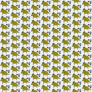 Dinosaurs with Daisies - Stegosaurus