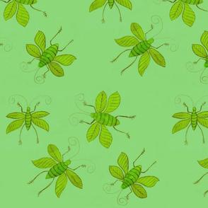 Green Bugs by Sara Aurora Waters