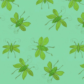 Turqouise Bugs by Sara Aurora Waters