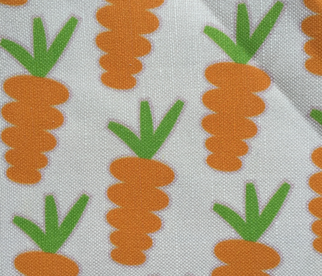 Carrot Crop on White_Miss Chiff Designs