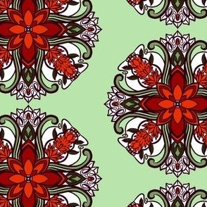 Tile 18 Poppies Coordinate