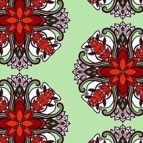 Tile 18 Poppies Coordinate