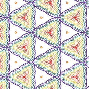 Rainbow Triangle Waves
