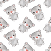 Teddy bear pattern 1