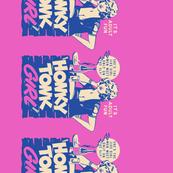 Honky Tonk Girl Border Print